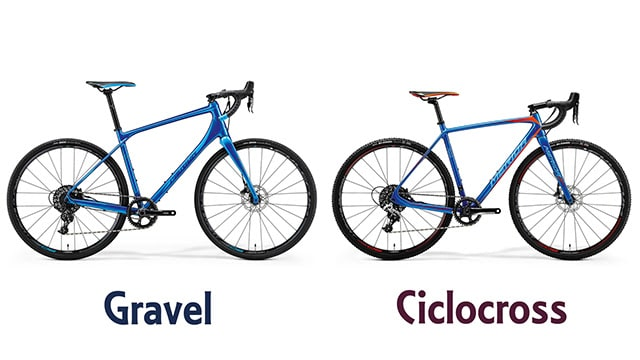 ciclocross vs gravel bicicletas 1