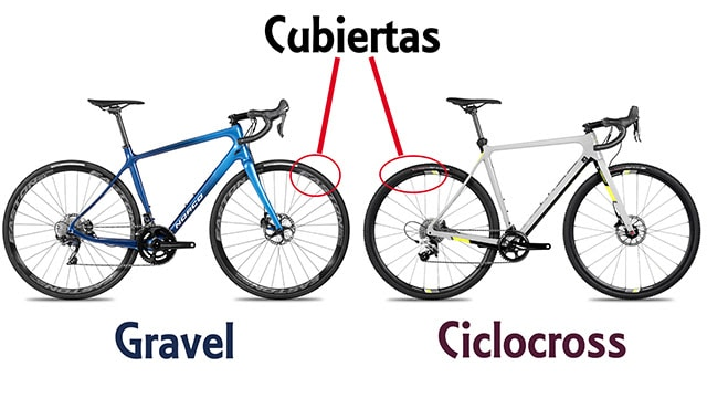 ciclocross vs gravel bicicletas 6